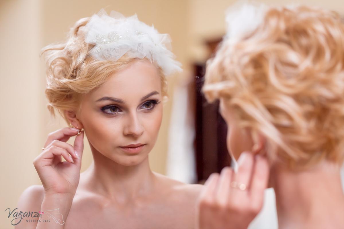 Dodatki ślubne, ozdoby do włosów. Sesja dla Vaganza.pl. Klaudia Cieplińska - fotograf na ślub jelenia góra