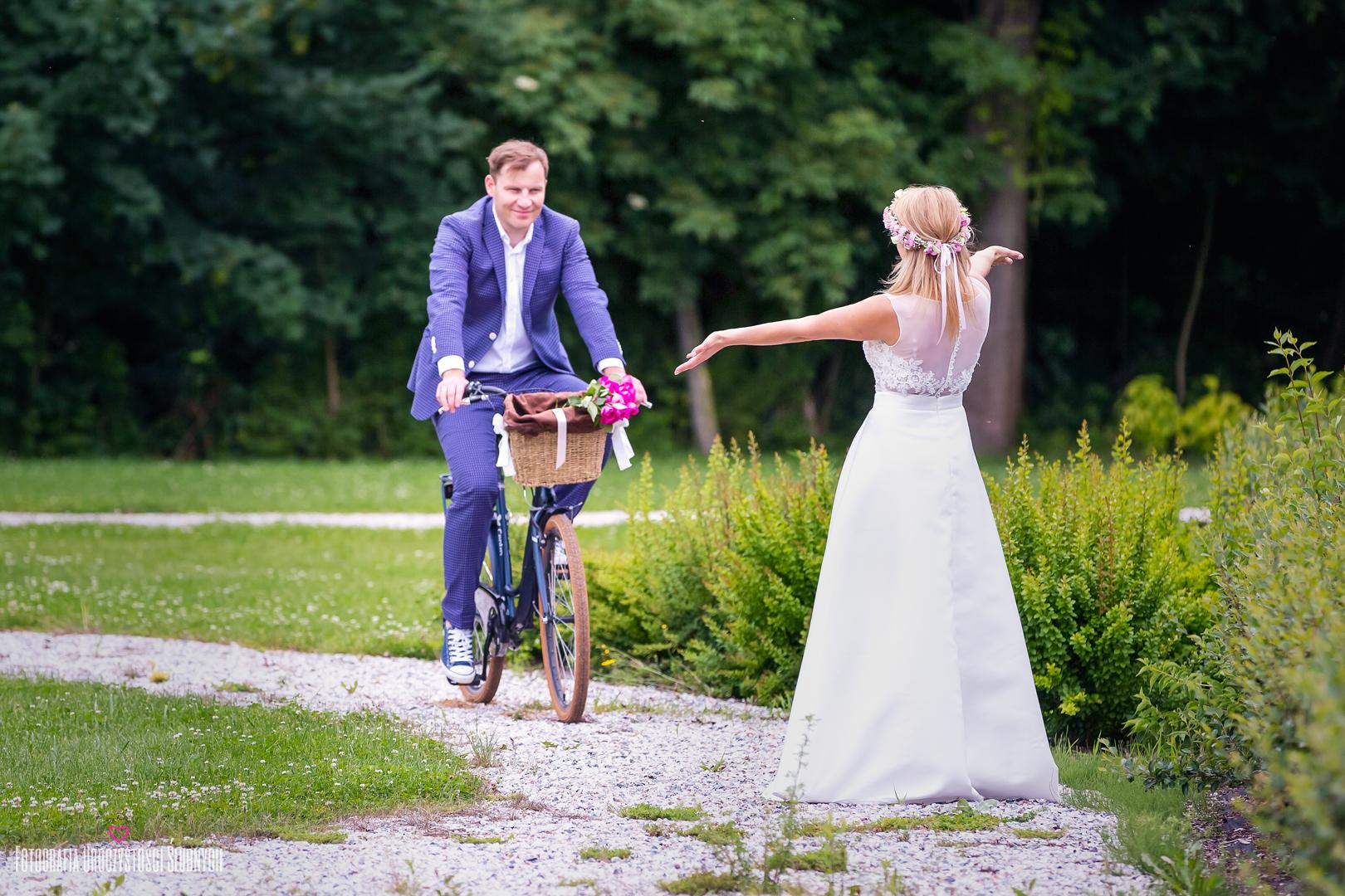 Artystyczna fotografia ślubna - Klaudia Cieplińska - M&P - ślubny plener w Bukowcu, koło Jeleniej Góry.