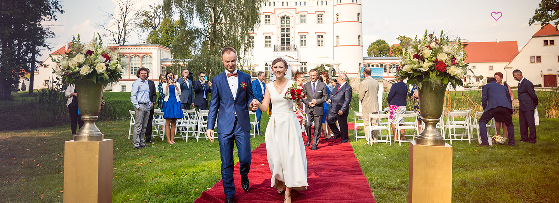 Marika i Bogusław - fotografia ślubna Pałac Wojanów