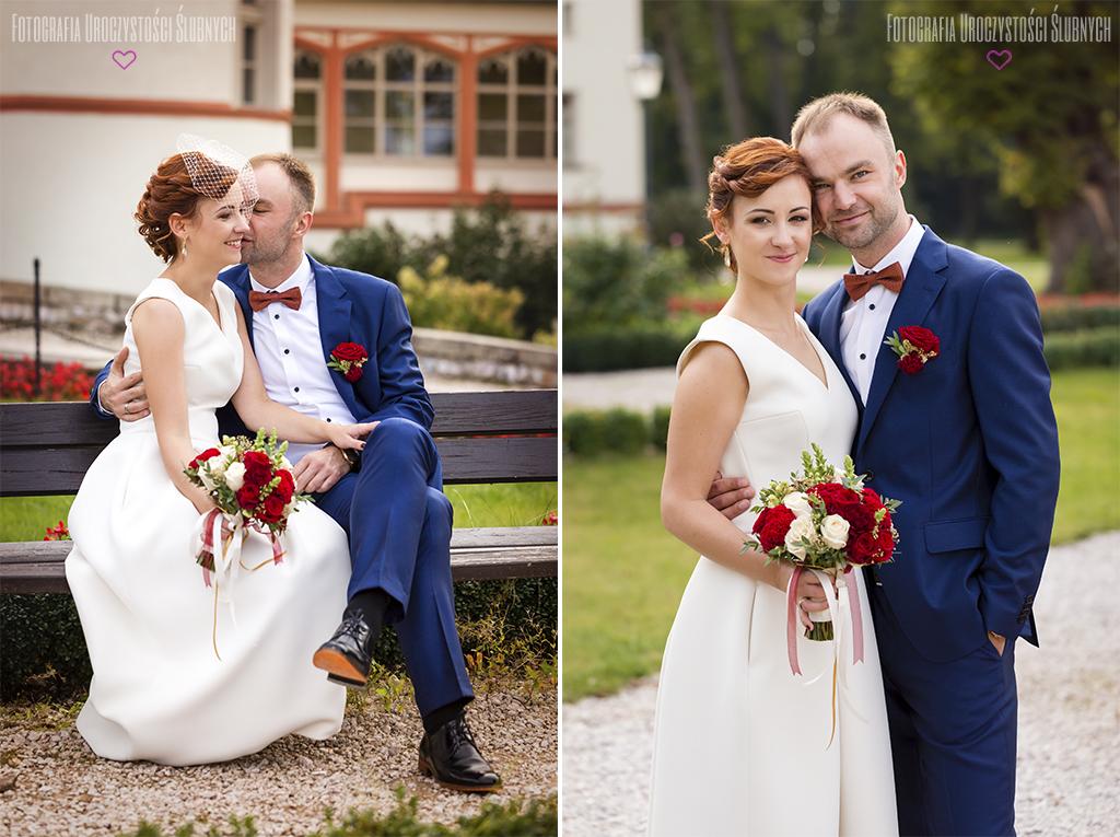 Marika i Bogusław - reportaż ślubny w Wojanowie. Artystyczna fotografia ślubna - zapraszam!
