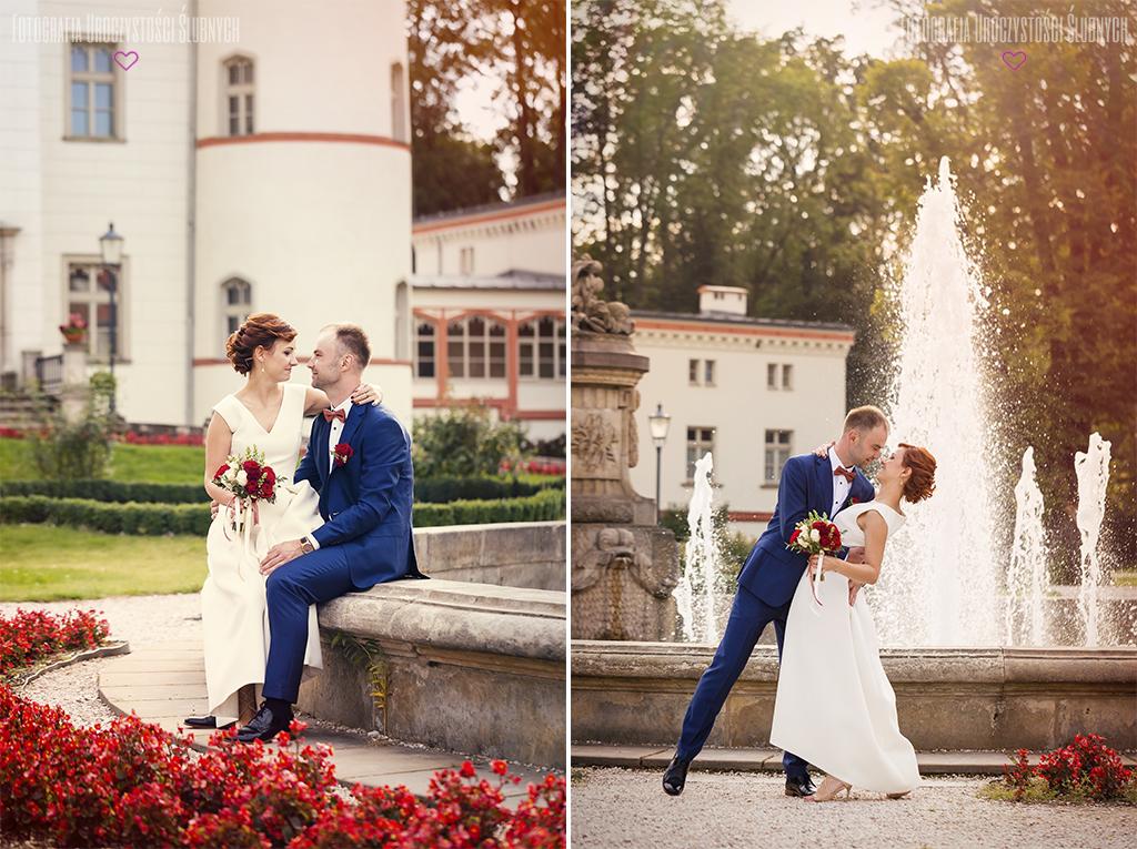 Marika i Bogusław - reportaż ślubny, fotografia ślubna w Pałacu Wojanów. Artystyczne zdjęcia ślubne - zapraszam!