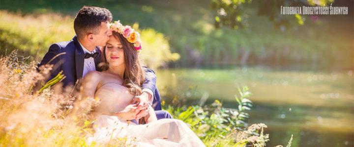 Marta i Bartek - plener ślubny Jelenia Góra