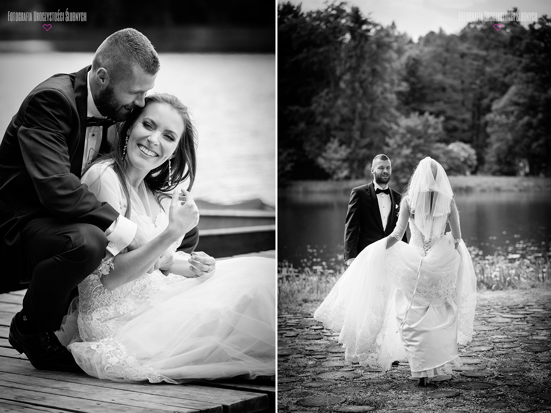 Artystyczne zdjęcia ślubne, sesje narzeczeńskie, plenery ślubne. Cudna sesja ślubna w Bukowcu. Zdjęcia naturalne i profesjonalne.