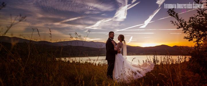 Ola i Szymon - plener ślubny w Jeleniej Górze