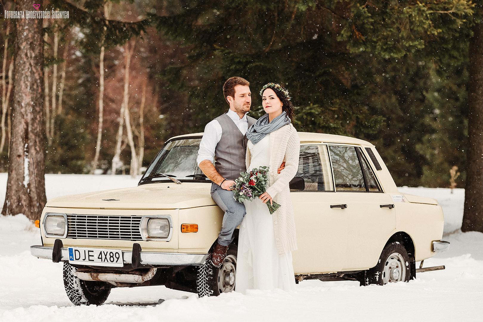 Przepiękne sesje narzeczeńskie oraz sesje ślubne plenerowe w lasach, górach, w Karkonoszach - fotograf ślubny Jelenia Góra - Klaudia Cieplińska