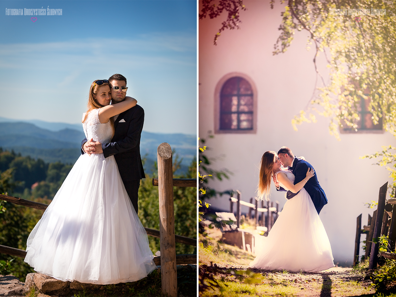 Fotografia ślubna Jelenia Góra - sesja zdjęciowa w Karkonoszach