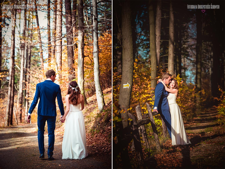 Fotografia ślubna Jelenia Góra - sesja zdjęciowa w Karkonoszach, plenery ślubne w górach, w lasach i na rozdrożach......