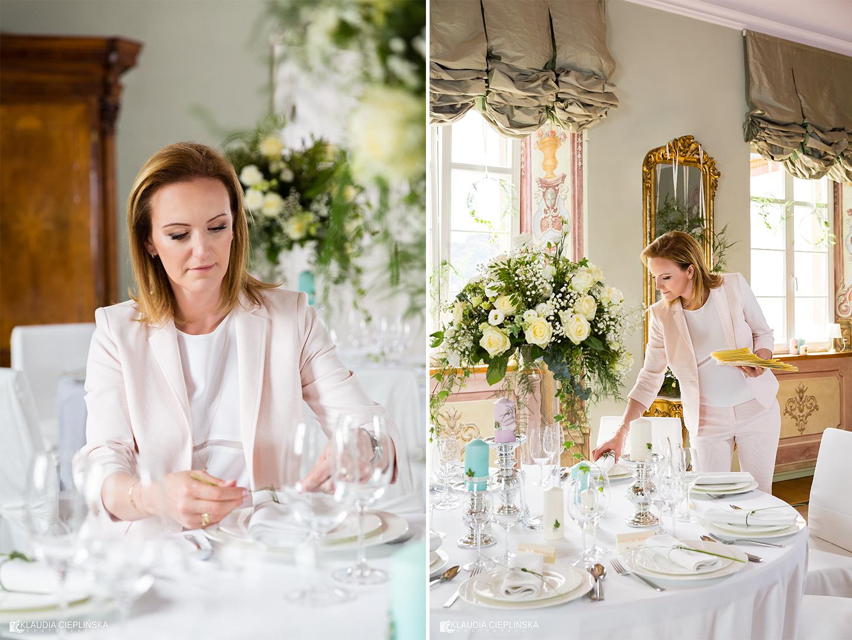 Miss Weddington - certyfikowana konsultantka ślubna Jelenia Góra, sesja zdjęciowa w Pałacu Pakoszów koło Jeleniej Góry