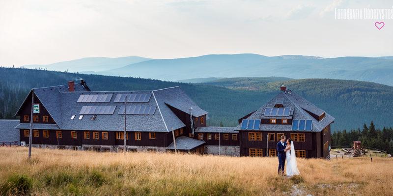 Plener ślubny w górach na Szrenicy