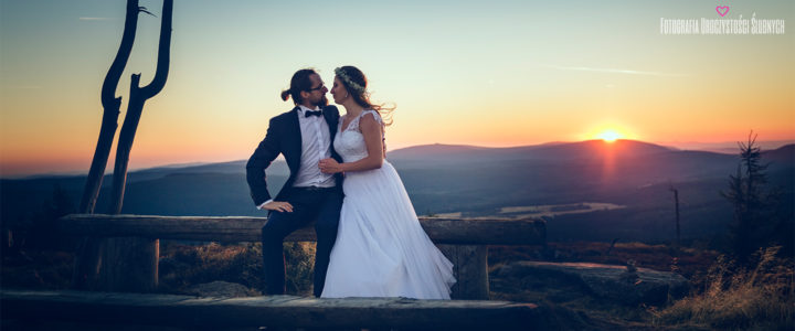Zdjęcia ślubne w górach - Izery