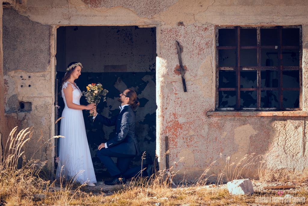 ślubne zdjęcia w Izerach